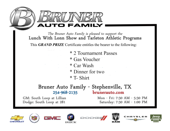 bruner auto family giveaway
